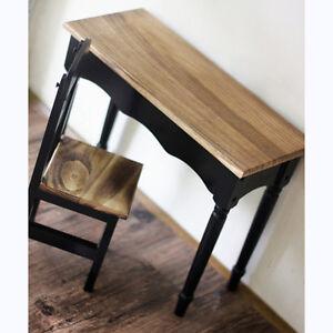 Details about 70cm BJD 1/3 1/4 BJD student Desk Set Dollfie DOD SOOM MID  AOD Wooden Furniture