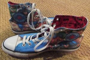 Converse All Stars Chuck Taylor Hi Top Sneakers  131298F Justice ... c264440b6