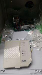 dsc pc500 4 zone alarm control pc500rk keypad classic rare new rh ebay com au  dsc pc500rk installation manual