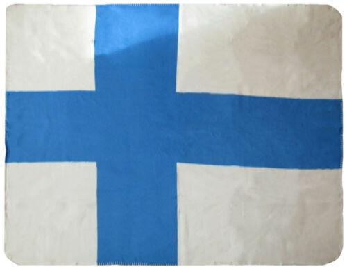 Finland Flag 50x60 Polar Fleece Blanket Throw Super Soft