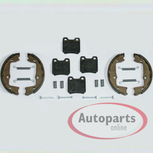 Opel Vectra B Klötze Bremsbeläge Bremsen Backen mit Zubehör Satz für hinten