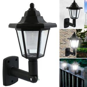 Energie-Solaire-DEL-Chemin-Way-Mur-Paysage-Monter-Barriere-Jardin-lampe-eclairage-exterieur-RF