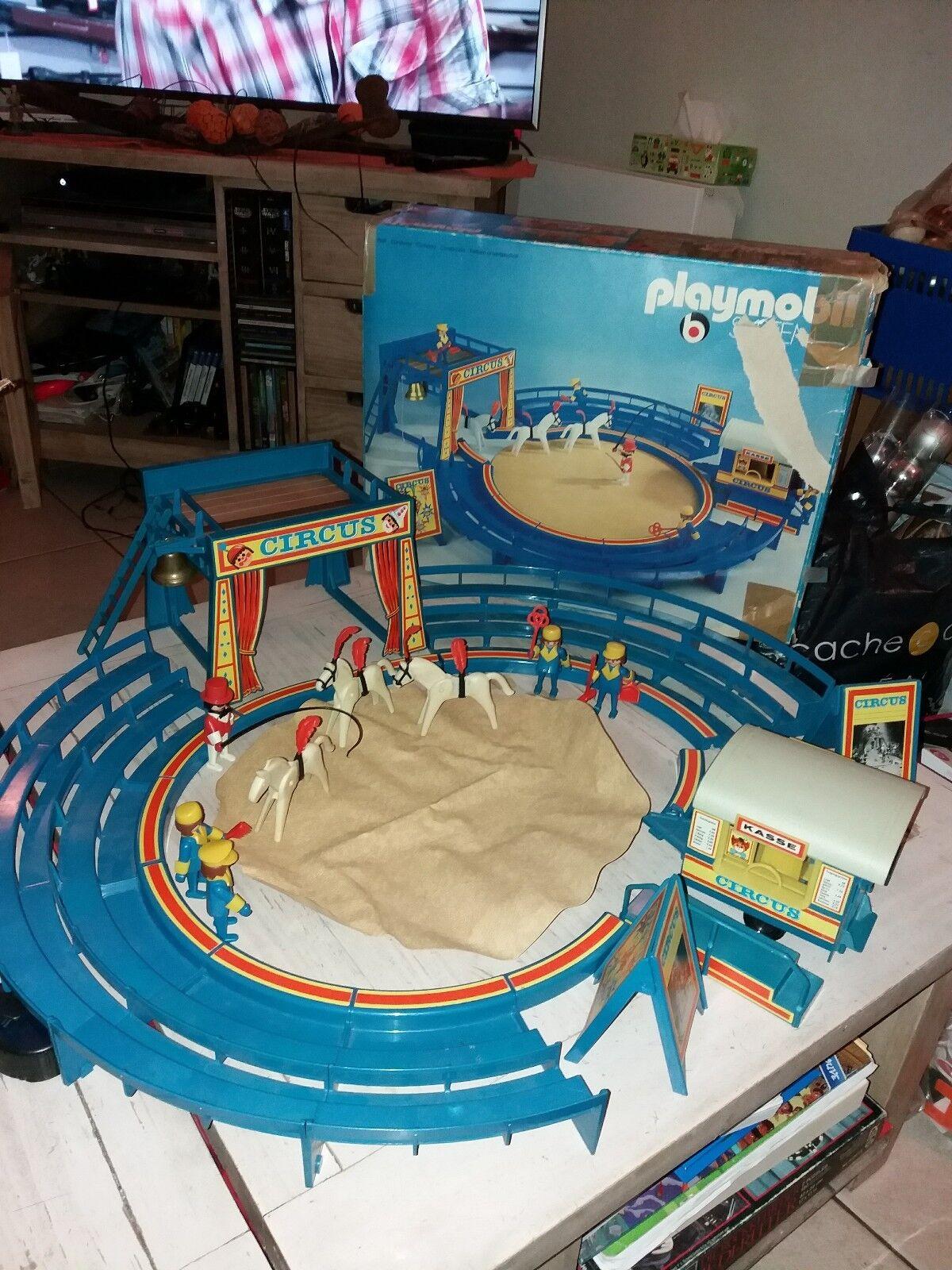 Célébrez Noël et bienvenue au Nouvel Nouvel Nouvel An Playmobil Cirque 3510 267aa9