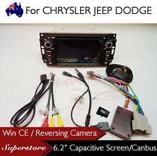 6.2 inch Car DVD GPS Car Radio Navigation Head Unit For JEEP
