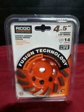 Ridgid Concrete Grinding Coating Removal Leveling 45in Diamond Cup Ao1051587