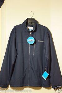 NEW Men's Columbia Water Resistant Utilizer Jacket Navy ...