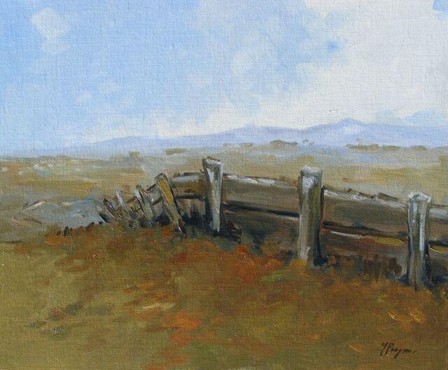 Original Art - Oil painting - landscape - impressionism - by j payne