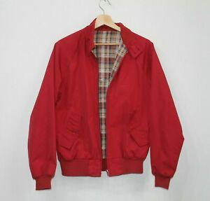 Giacca-Harrington-da-Uomo-V-S-N-Classici-Slim-Fit-Zipper-90s-Vintage-Bomber-Cappotto-MA1-M