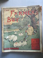 'THE FARMER'S BOY' R.CALDECOTT ORIGINAL VICTORIAN PICTURE BOOK 1881 EDITION