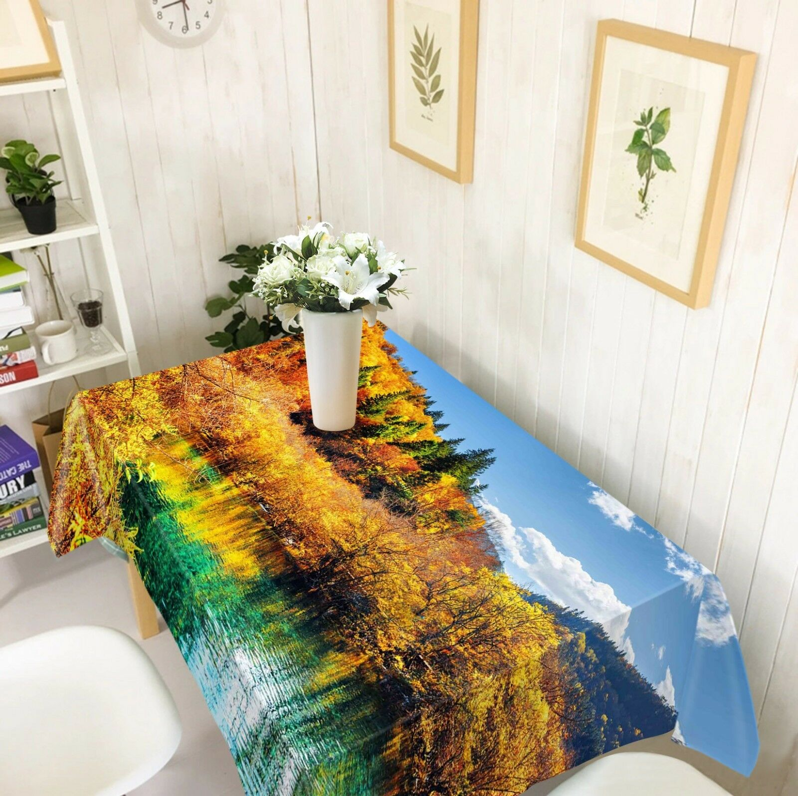 3D Grassland Sky 04 Tablecloth Table Cover Cloth Birthday Party Event AJ Jenny