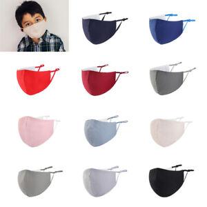Kinder Mund-Nasen-Maske Gesichtsmaske Stoffmaske 100 % Baumwolle