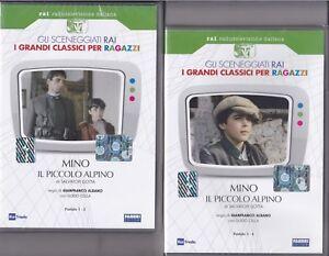 2-Dvd-Sceneggiati-Rai-MINO-IL-PICCOLO-ALPINO-con-Guido-Cella-completa-1986