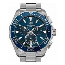 TAG Heuer Aquaracer Chronograph Ceramic bezel 43mm - Unworn with Box and Papers