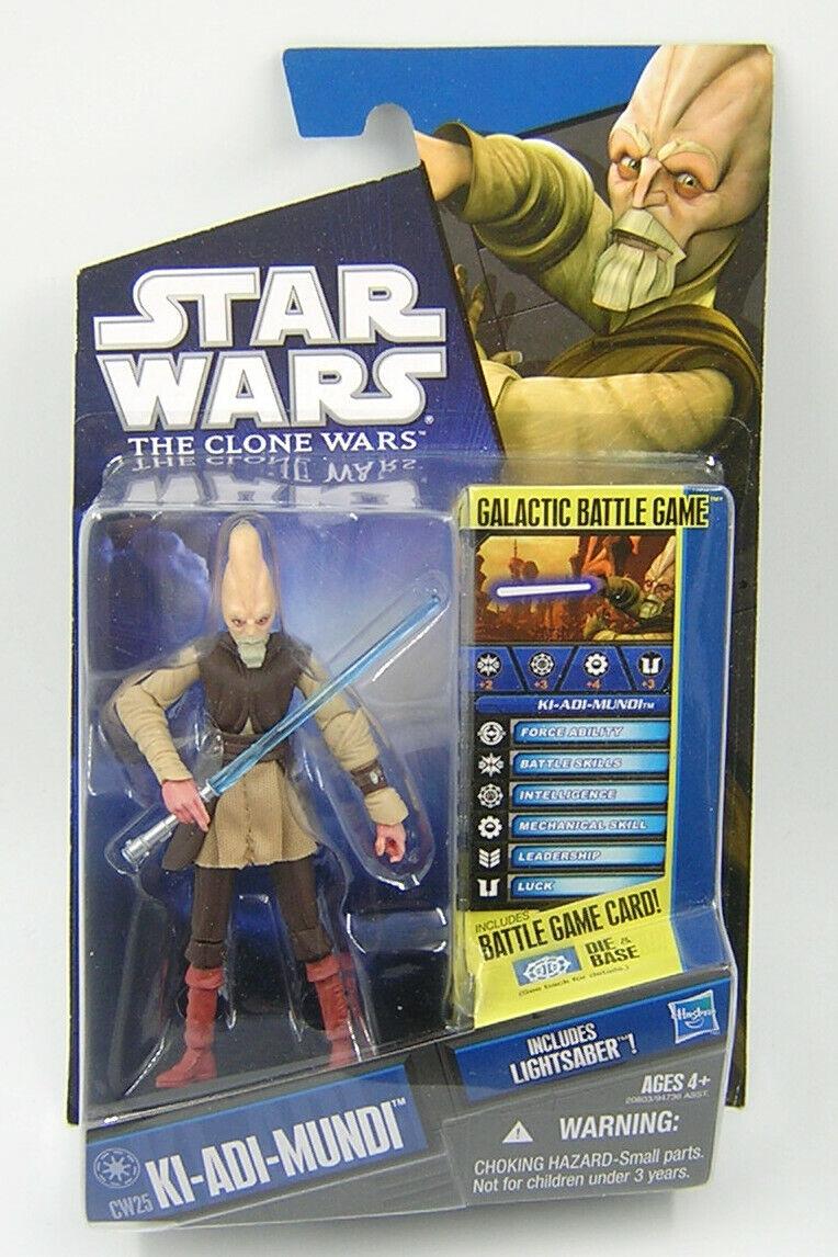 Star Wars Clone Wars CW25 Ki Adi Mundi
