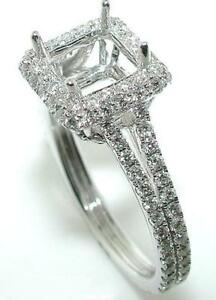 1-0-CT-HALO-DIAMOND-RING-Setting-14KW-for-6-mm-SQUARE
