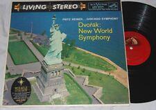 REINER Dvorak New World Symphony RCA LIVING STEREO LSC-2214 SHADED DOG LP