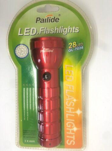 Flashlights 28 Led Aluminium Torch Small Superbright Light With Batteries 3XAAA