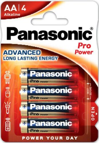 MN1500 LR6PPG//4BP 8x Panasonic Pro Power AA Batterien LR6 Alkaline 2x4er Bl