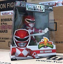 Power Rangers 4-Inch Red Ranger Metals Die-Cast Action Figure