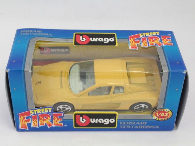 BBURAGO BURAGO 1/43 STREET FIRE COLLECTION #4157 FERRARI TESTAROSSA [PF3-16]