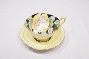 Paragon-Hand-Painted-Gardenia-Bone-China-Cup-amp-Saucer