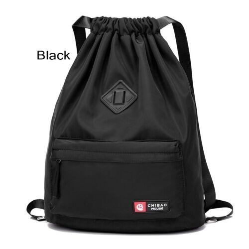 Waterproof Drawstring Gym Bag Sackpack Sports Backpack Sports Yoga Gymsack Girls