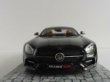 BRABUS 600 for GT S 2015 Mercedes-Benz AMG Schwarz 1/18 Minichamps 107032520