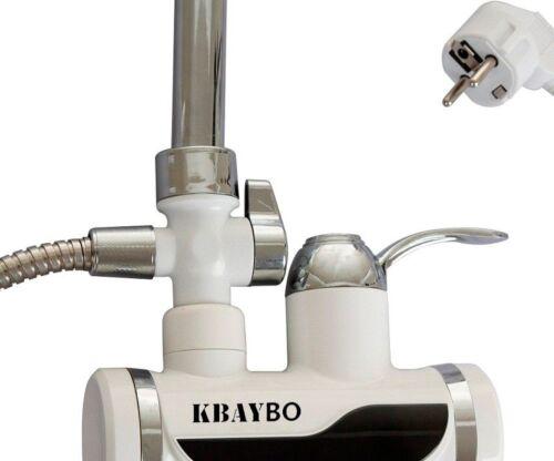 Calentador de agua eléctrico temperatura instantánea de agua caliente sin tanque