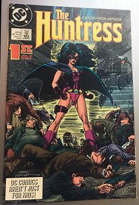 DC-Huntress-Comic-1-1989-1st-Appearance-Helena-Bertenelli-Birds-of-Prey-NM