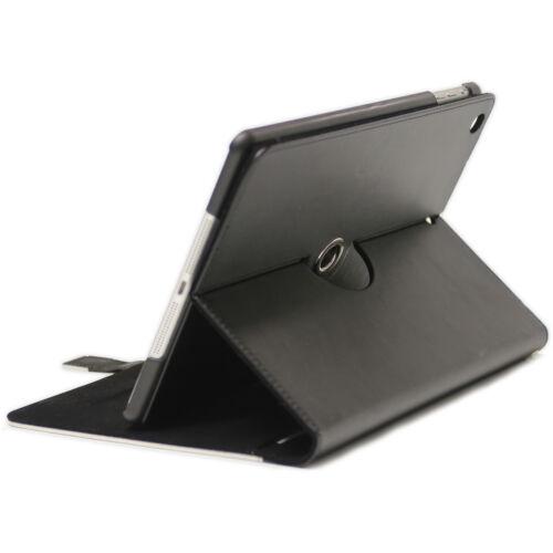 PANTERA NERA LUSSO Apple iPad 360 Girevole Cover Custodia pelle con slot per schede