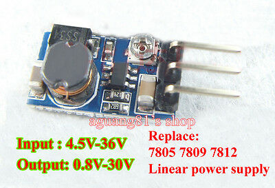5W DC-DC Buck Converter Step-down 5V-36V to 5 12V Power Module Replace 7805 7812