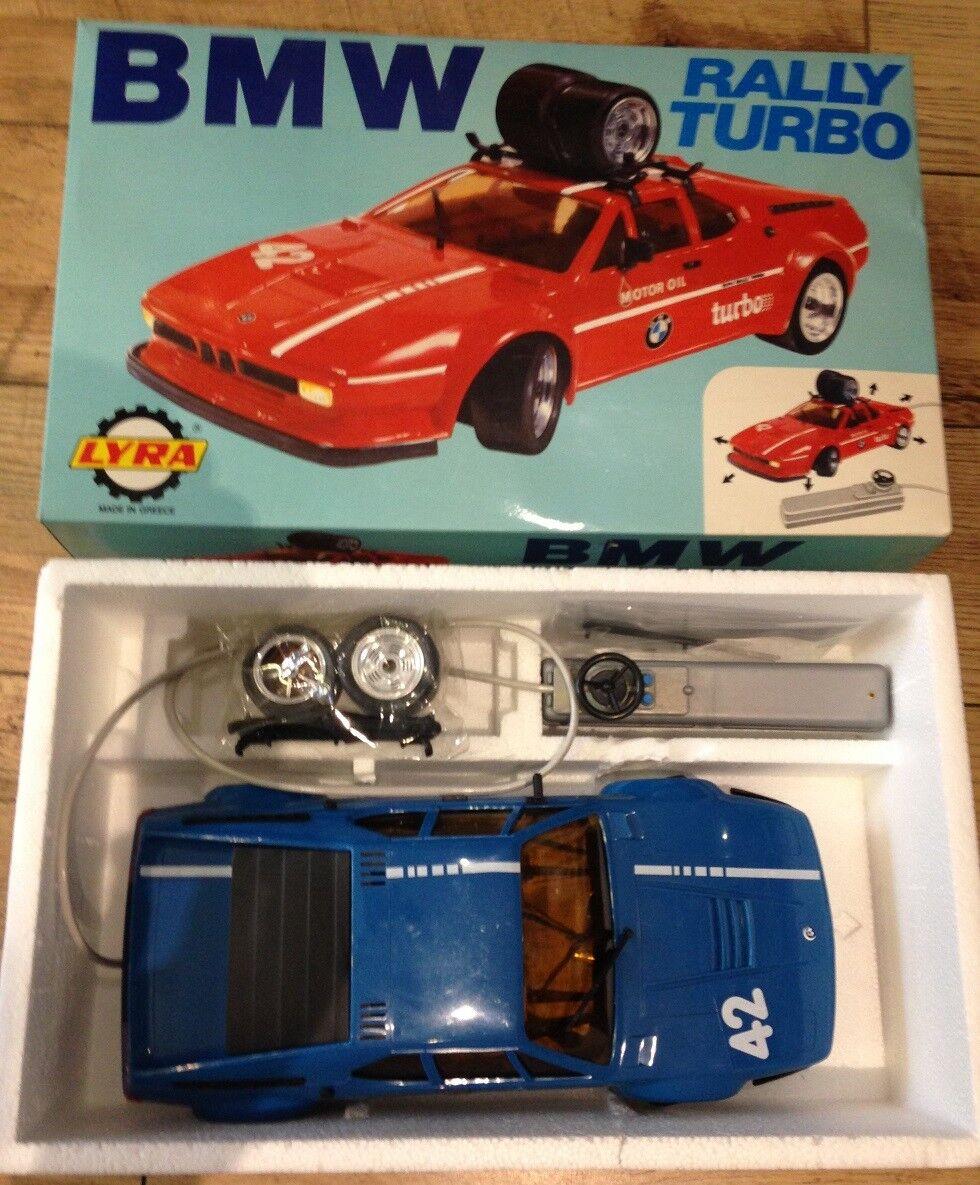 BMW RALLYE TURBO par  la lyre. Télécomhommede De Voiture. TRAVAIL. Original voiture et boîte.  livraison gratuite!