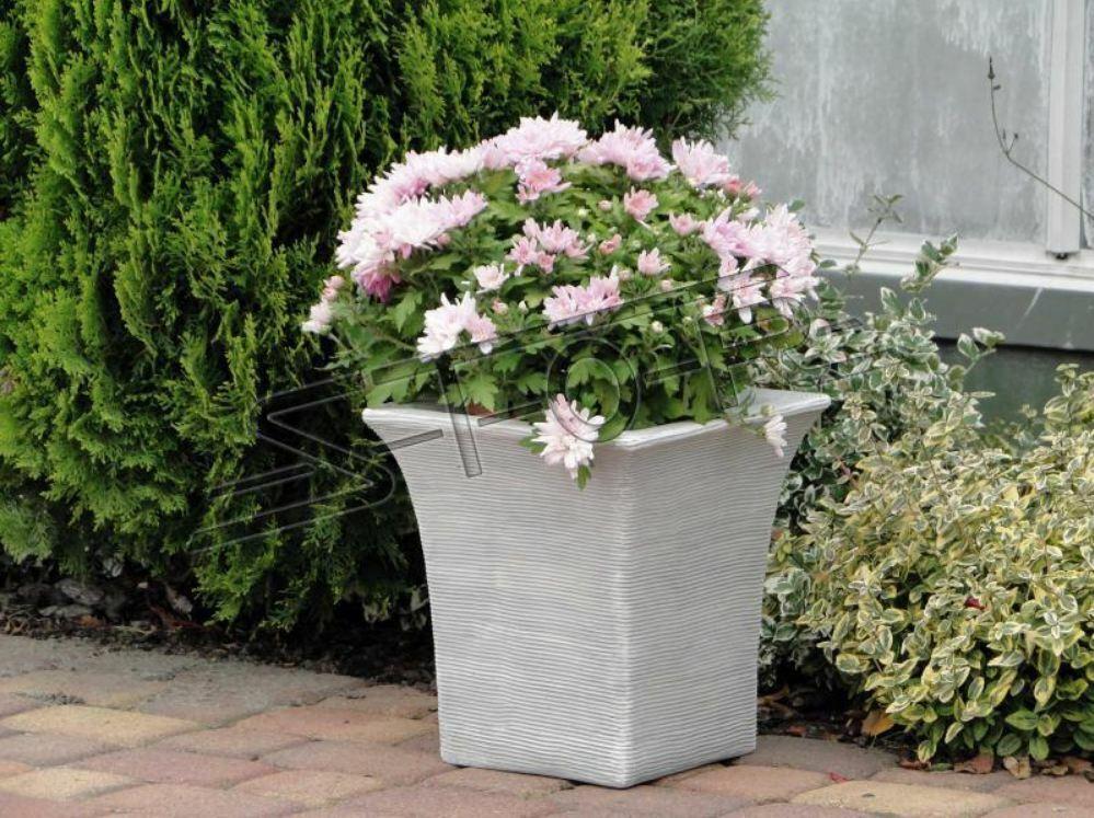Cesta de flores flores jarrón tarro Jardín Terraza decoración estatua personajes s204053