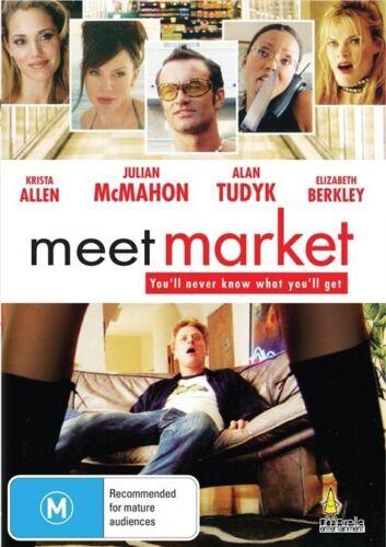 1 of 1 - Meet Market (DVD, Region 4) Julian McMahon - Brand New, Sealed