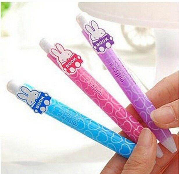 Lot M&G Miffy 0.7mm Mechanical Pencil w/10 refills Cute Rabbit Kawaii stationery