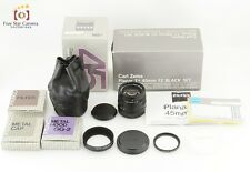 Near Mint!! Contax Carl Zeiss Planar 45mm f/2 T* Black Set G1 / G2 from Japan