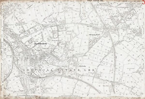 Dewsbury E Earlsheaton old Yorks map 24741893 eBay