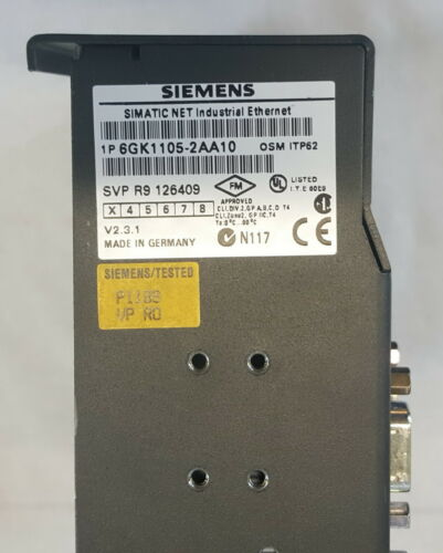 Siemens Simatic Net 6GK1105-2AA10 Industrial Ethernet OSM ITP62 E-Stand:3