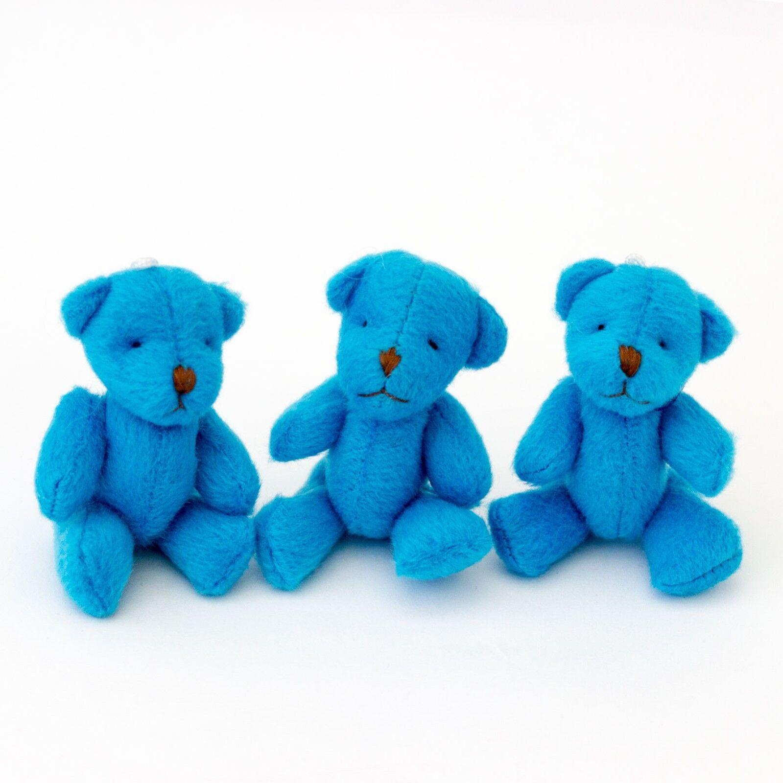 NEW - 275 X Blau Teddy Bears - - - Small Cute Cuddly Adorable - Gift Present 917ca2