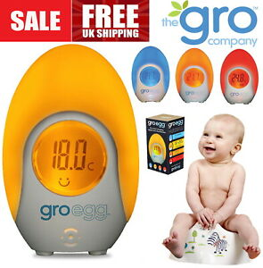 The Gro Company Groegg Colour Changing Room Thermometer  NEW /& FAST