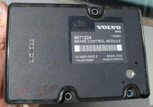 2004 Volvo S80 ABS Anti-Lock Module Brake Controller 8671224 OEM DSTC