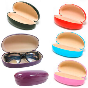 1-Large-Hard-Case-Sunglasses-Eye-Glasses-Case-Box-Portable-Clam-Shell-Protector