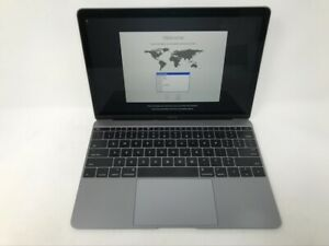 MacBook-12-Space-Gray-Early-2016-1-1GHz-m3-8GB-256GB-Good-Condition-READ