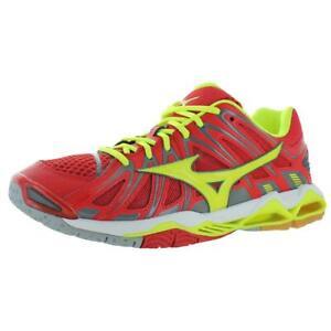 Mizuno-Mens-Wave-Tornado-X2-Red-Athletic-Shoes-Sneakers-15-Medium-D-BHFO-8409