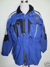 Skianzug Skijacke Skihose GIERRE HTE Jacke 54 Hose 52 schwarz blau wie NEU/U3