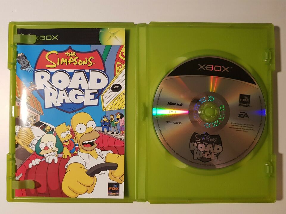 Simpsons Road Rage, Xbox