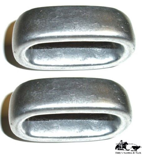 Aluminum Horn Knot 2-Pack Holds Rope To Saddle Horn for Tie Down Roping