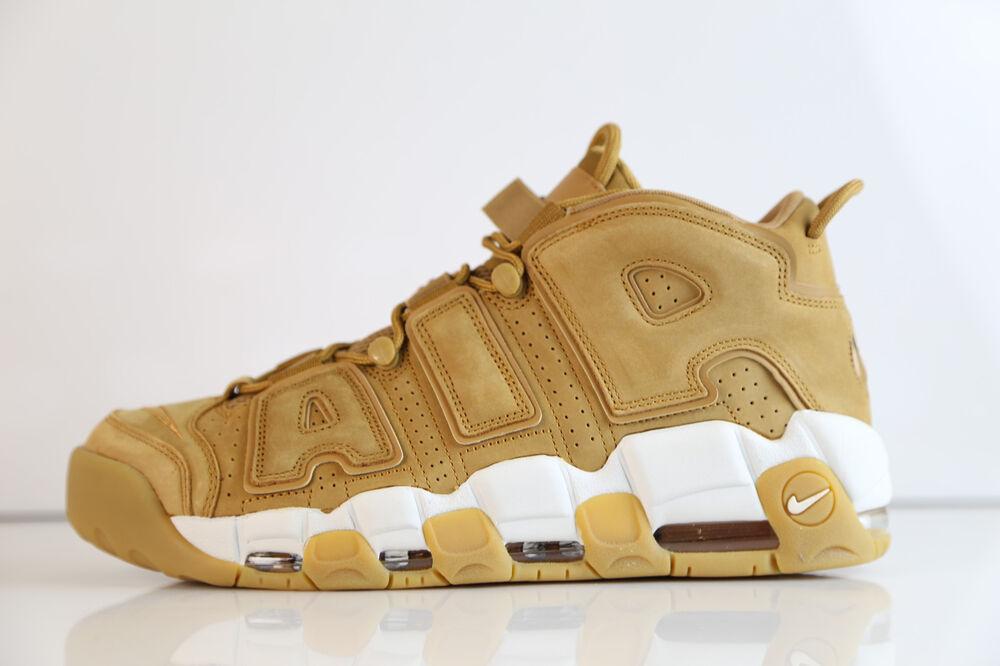 Nike Air More Uptempo 96 PRM Flax Wheat AA4060-200 7-14 max pippen tan Chaussures de sport pour hommes et femmes
