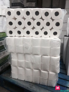 144 Rolls 2Ply Toilet Tissue 26m Per Roll Embossed Quilted