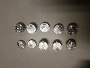 Complete-2018-Washington-P-D-National-Parks-Quarters-Set-10-coins-UNCIRCULATED